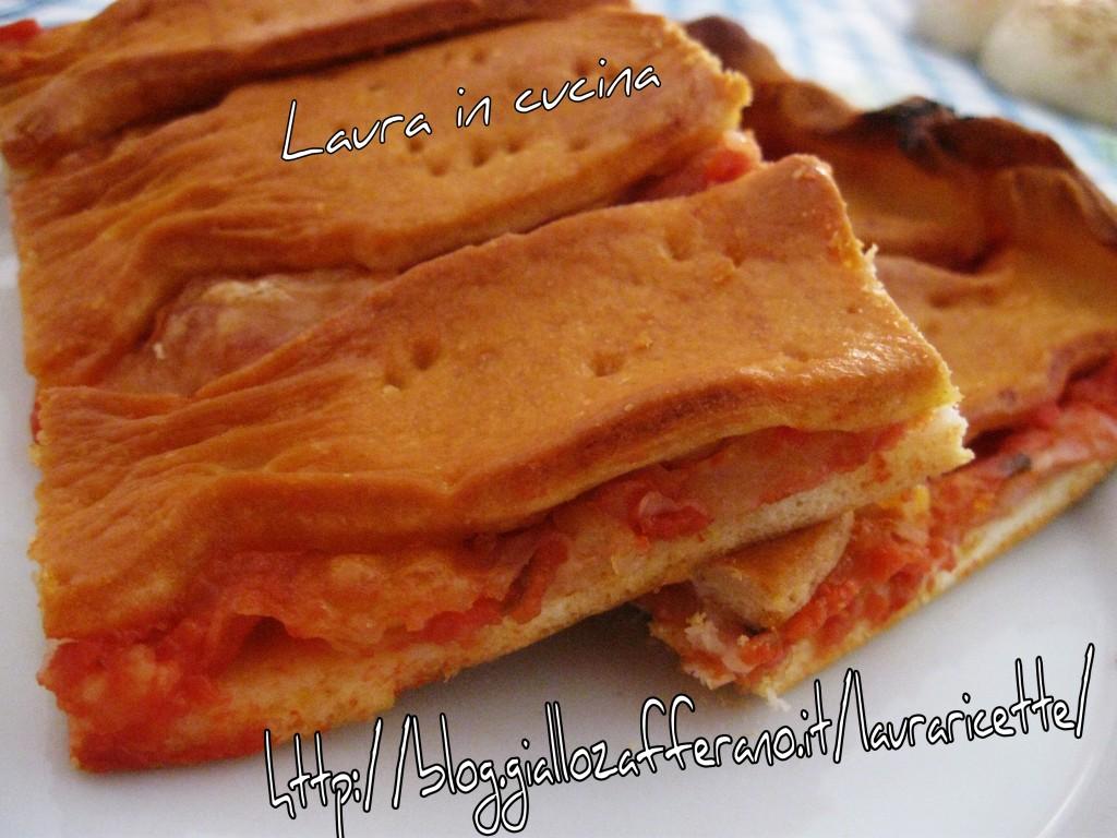 Schiacciata della nonna,ricetta siciliana