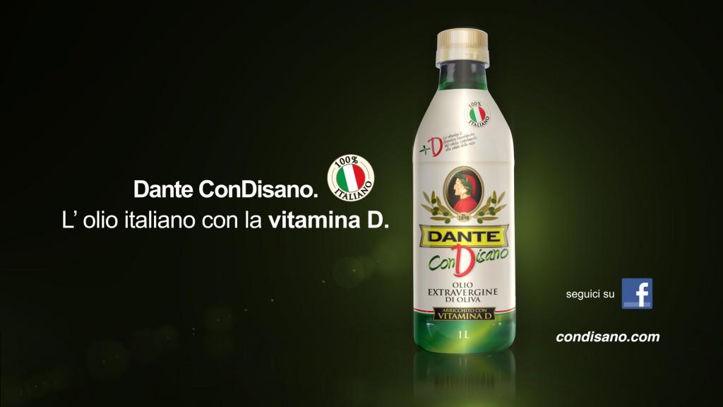Olio Dante conDisano!!L'olio con la vitamina D