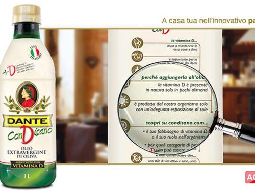 Condisano:olio arricchito con la vitamina D