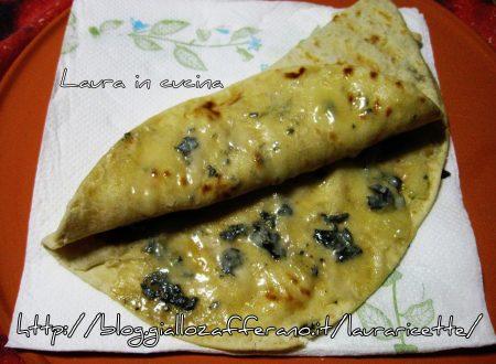 Piadina e BontàZola piccante,ricetta veloce