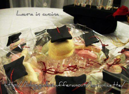 Cake pops cappelli per laurea