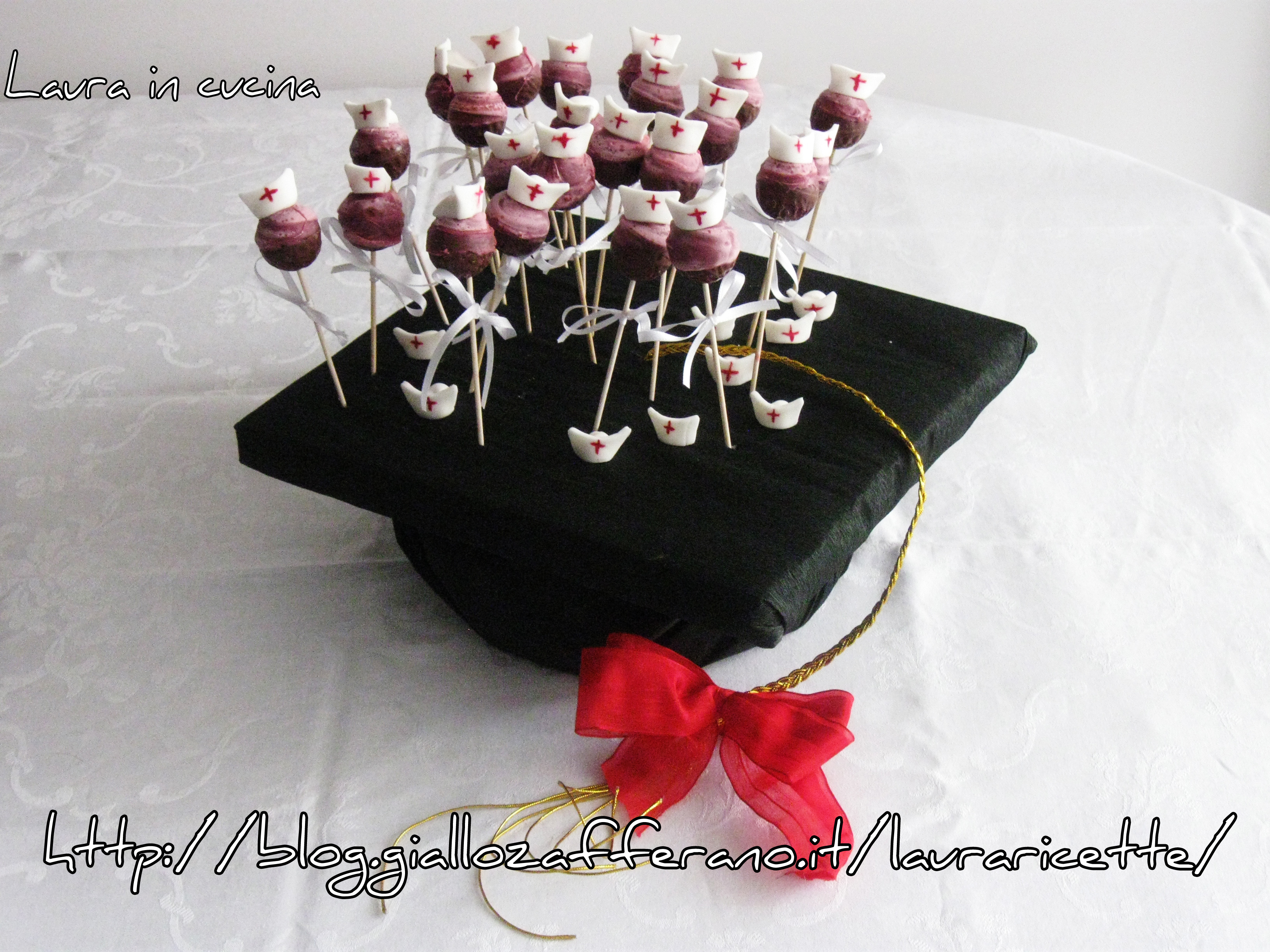 Top Lollipops per laurea in infermieristica – Laura in cucina PU19