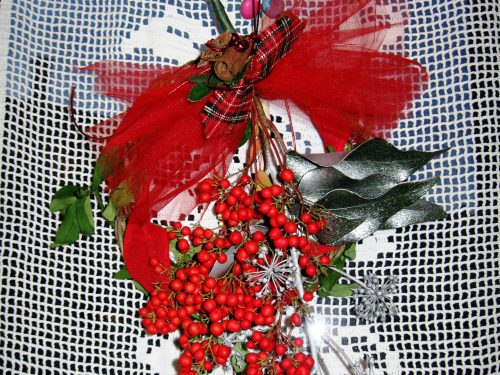 Ghirlanda natalizia, decorazioni fai da te