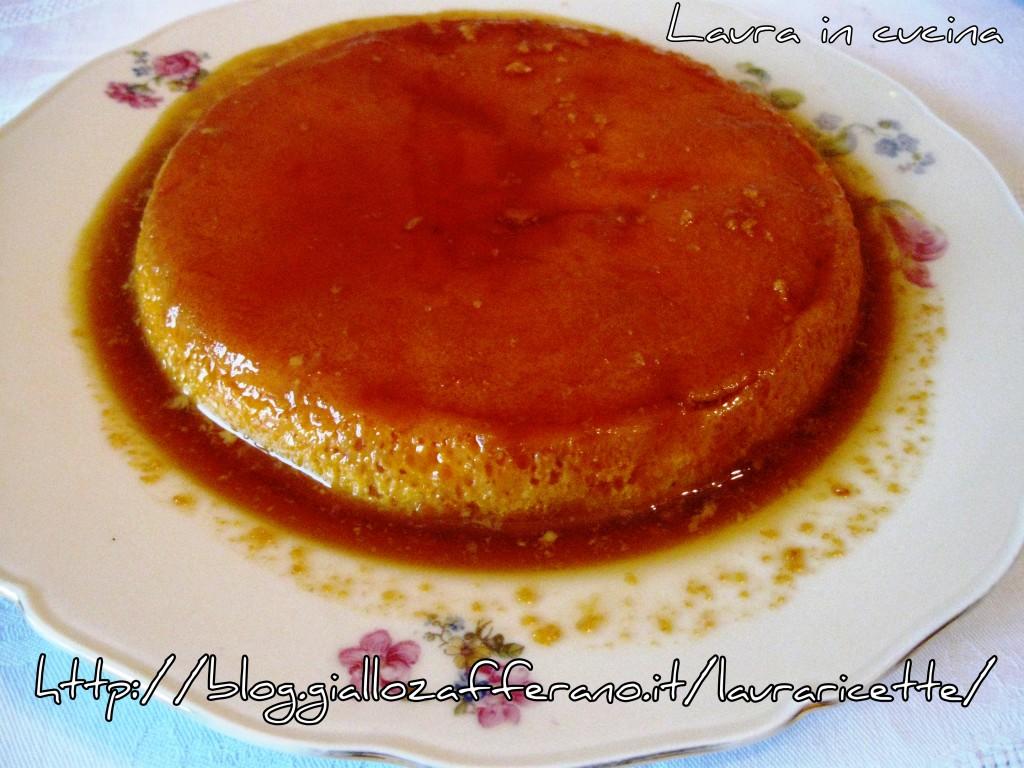 Ricetta del crème caramel o lattaiolo
