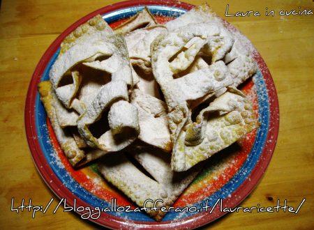 Frittelle o cresciole,ricetta di Carnevale