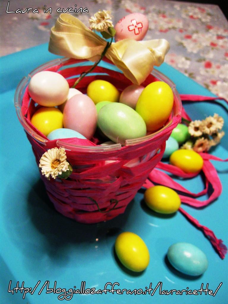 Cestino pasquale con uova,lavori fai da te