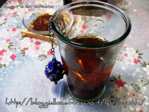 Il thè rooibos ,un tè rosso : elisir di lunga vita!