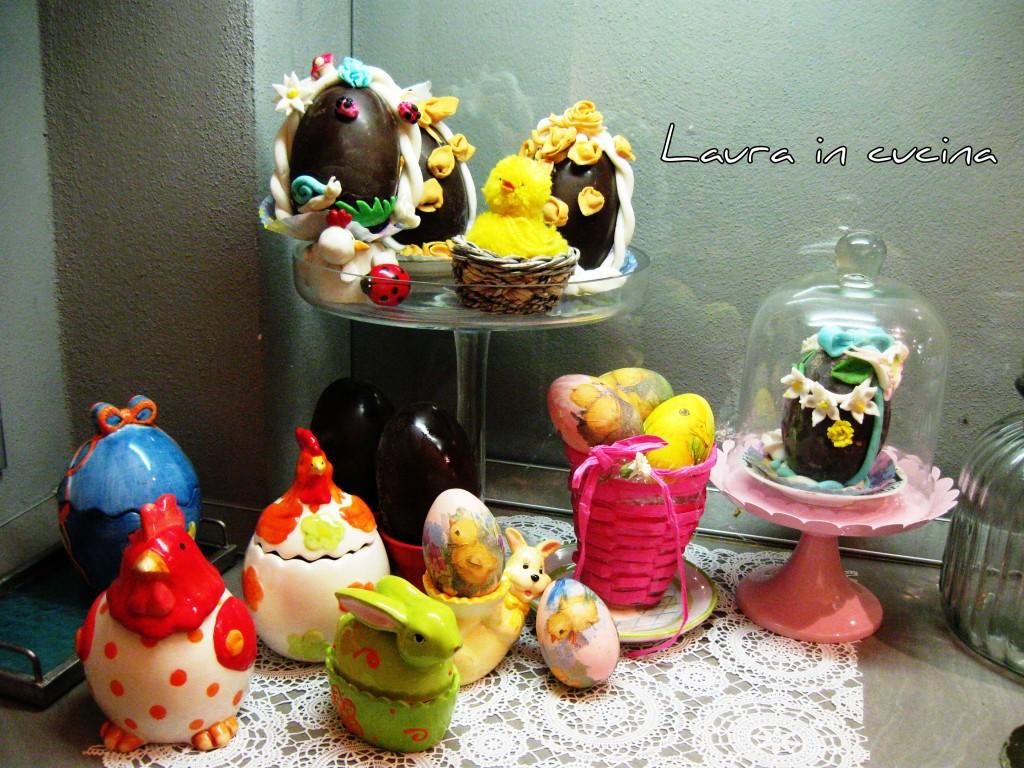 uova di cioccolato decorate ,ricetta fai da te