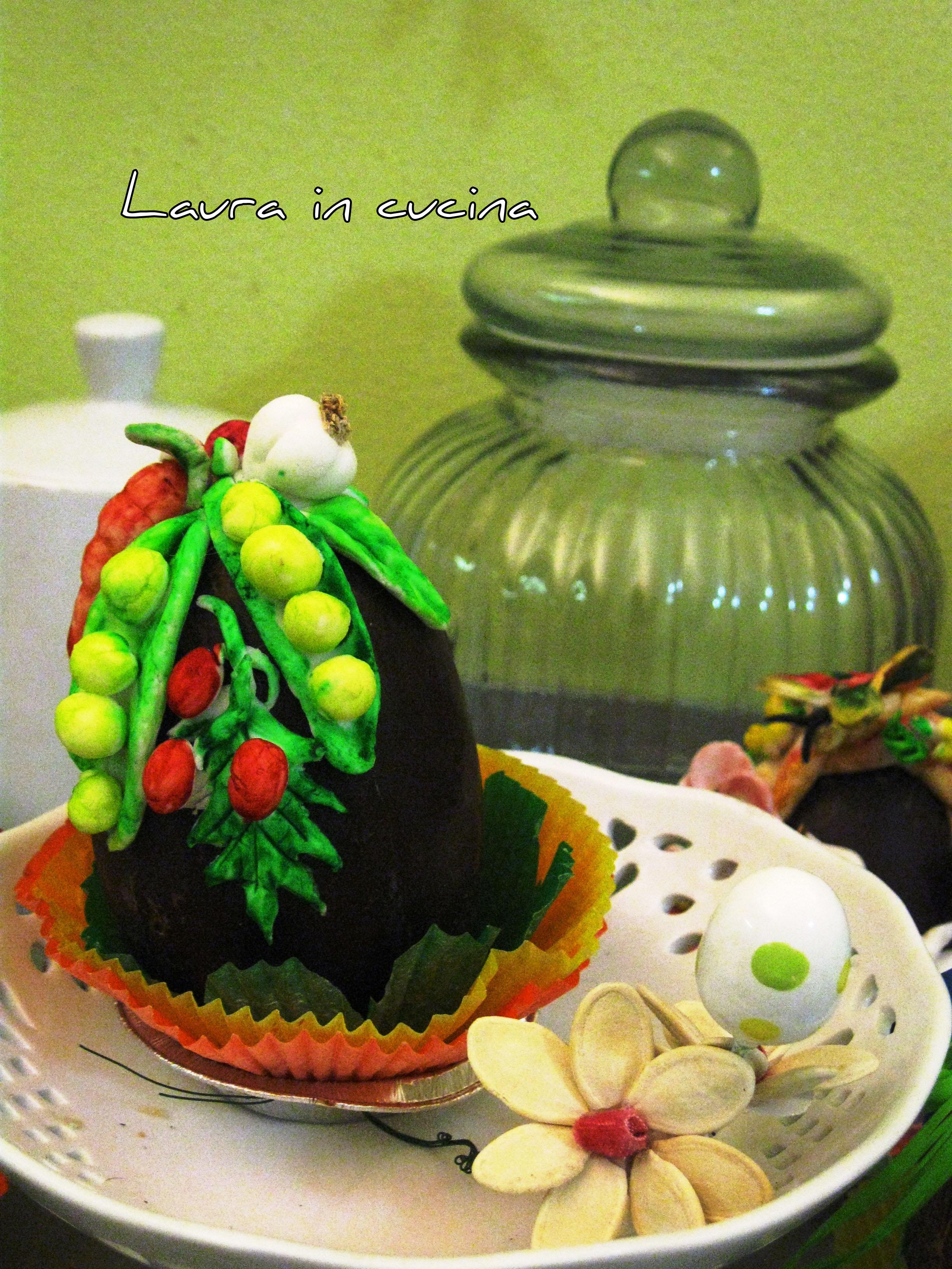 Uova di cioccolato decorate ricetta fai da te laura in cucina - Uova di pasqua decorate ...