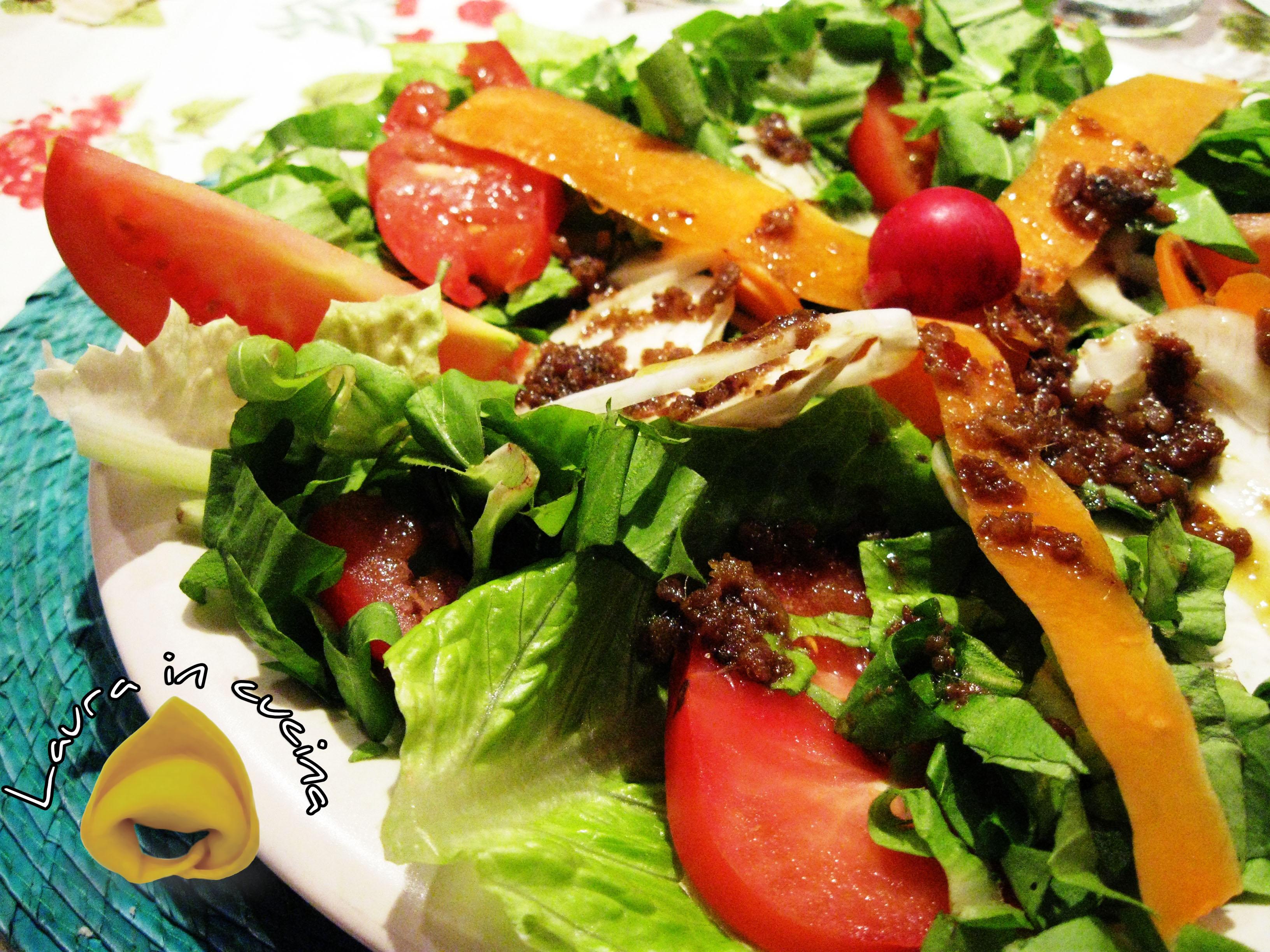 Insalata con bagna cauda ricetta piemontese u laura in cucina