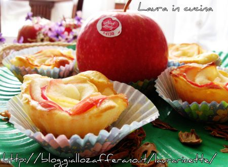 Muffin primavera con mele Pink Lady