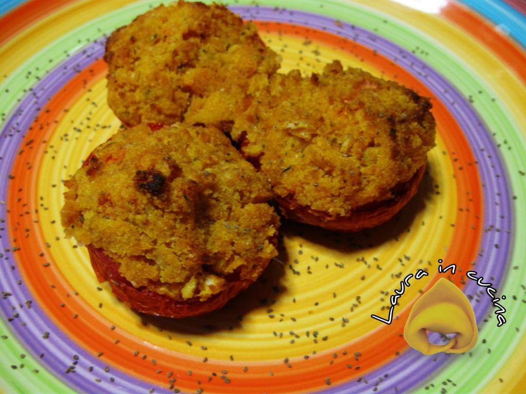 Pomodori ripieni ai semi di sedano,ricetta contorni