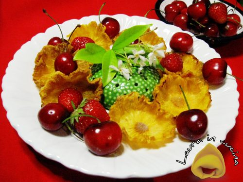 Chips d'ananas ,ricetta facile
