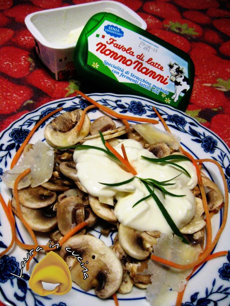 Insalata di funghi, ricetta contorni