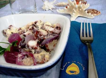 Polpo saporito con cipolle ricetta secondi piatti
