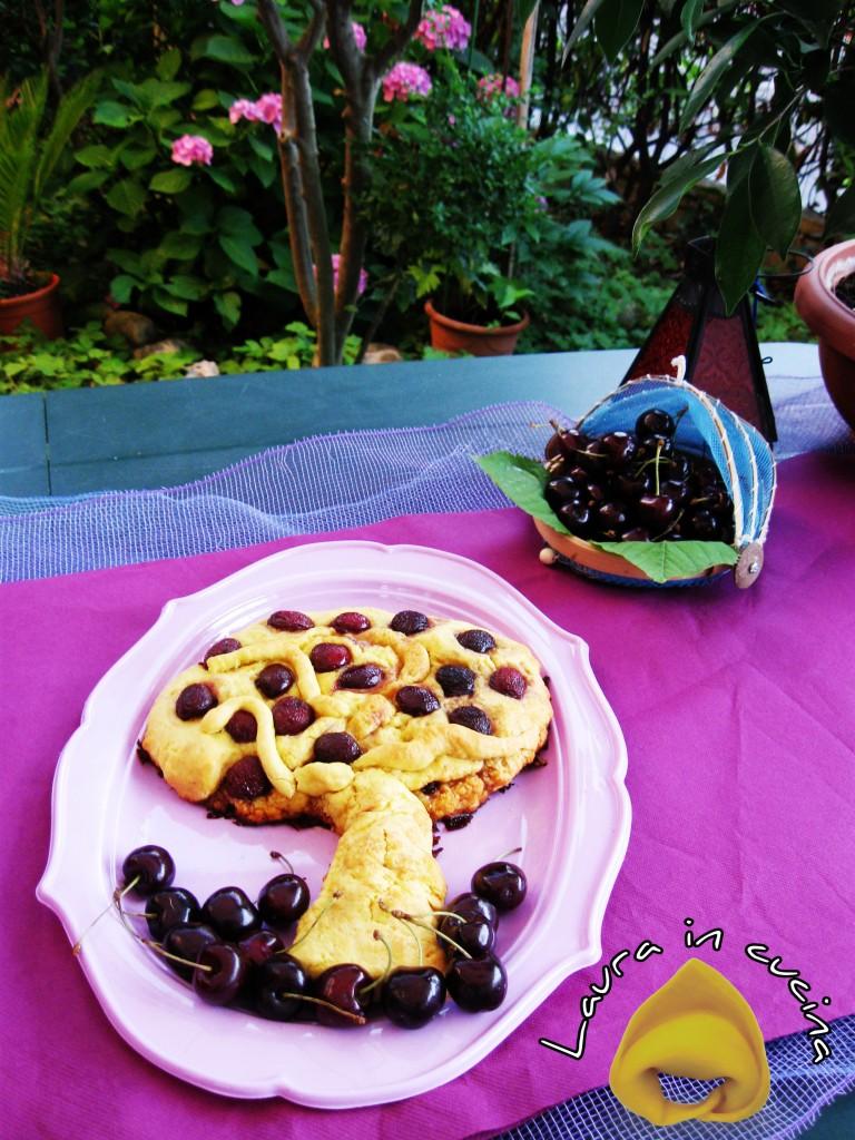 Crostata di ciliege o amarene, ricetta dolci