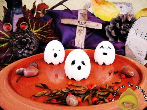 Fantasmini e mostri di Halloween,ricetta antipasti