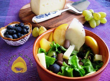 Fagioli freschi in insalata ,ricetta contorni