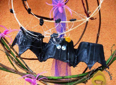 Pipistrelli di Halloween tutto riciclo