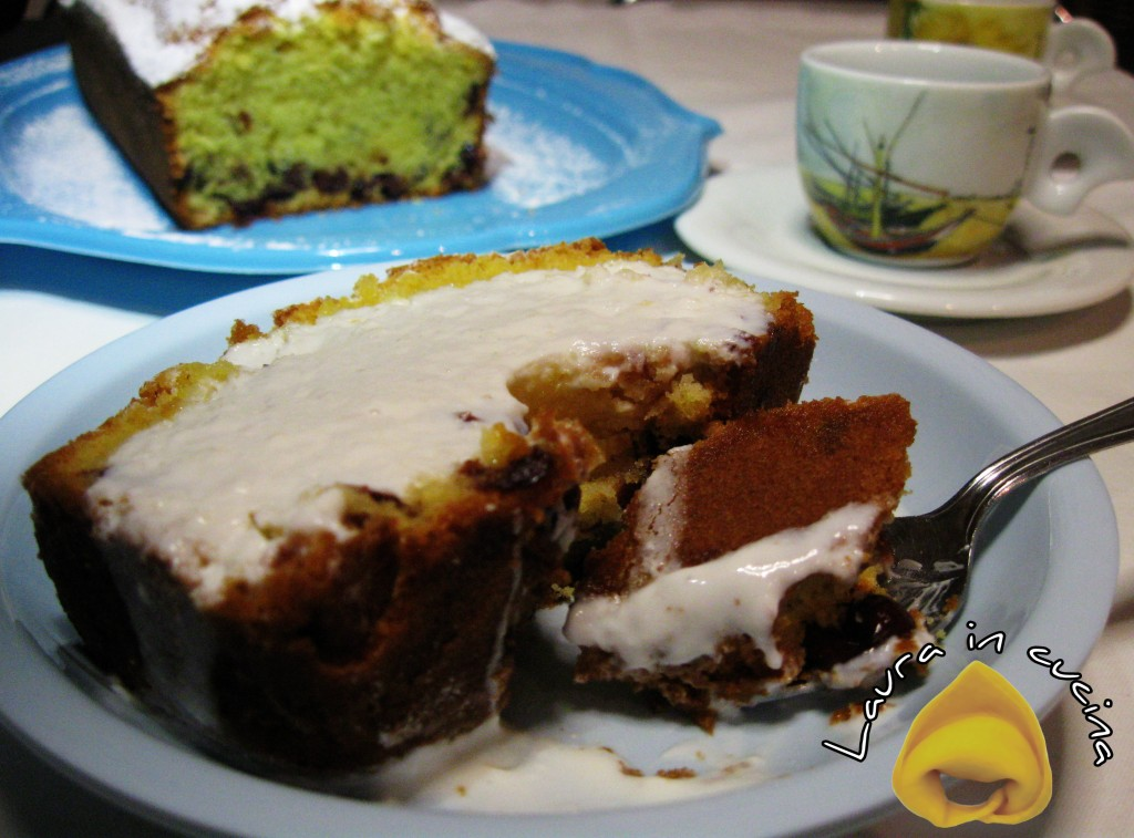 Torta al kefir e mirtilli,ricetta dolci