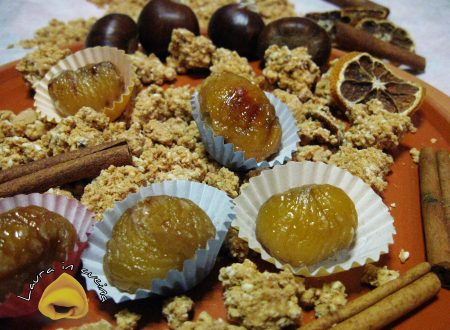 Marron glacè,ricetta dolci