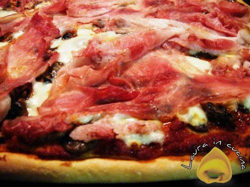 Pizza con biga ,ricetta facile