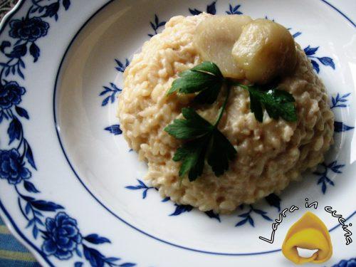 Risotto ai topinambur,ricetta primi piatti