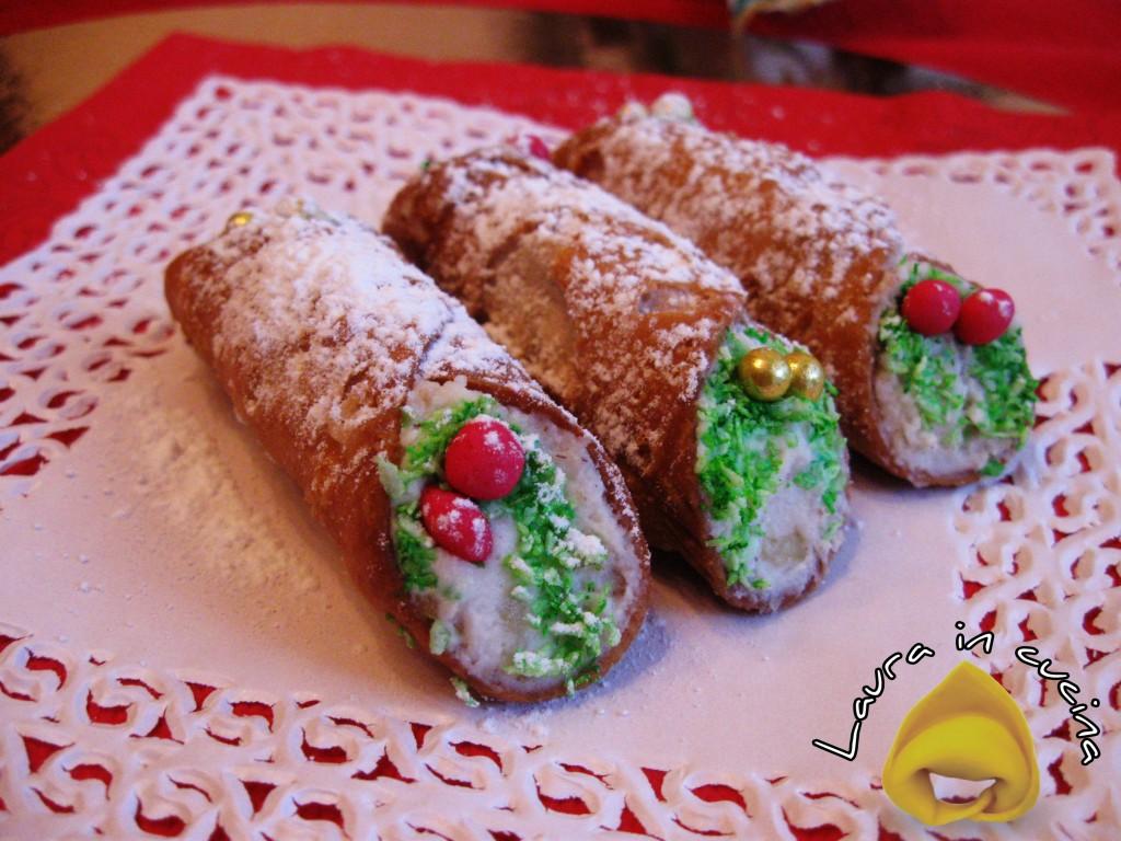 Cannoli siciliani al torroncino,ricetta dolci