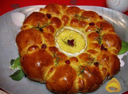 Danubio con Camembert ,ricetta salata