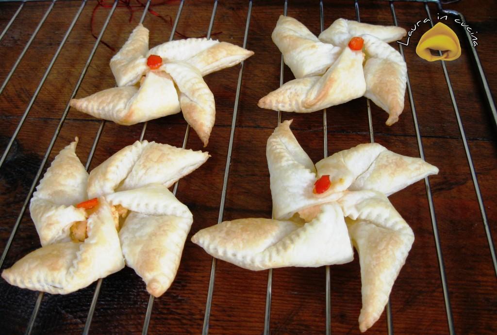 Finger foods alla crema di salmone ,ricetta antipasti