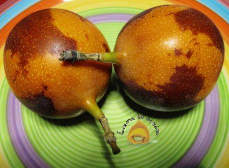 Granadilla o granatella,un frutto sub tropicale