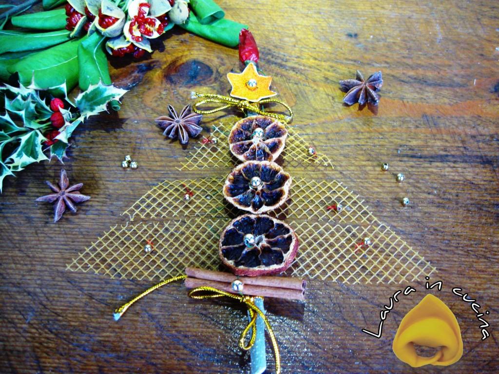 Segnaposti natalizi: gli alberelli