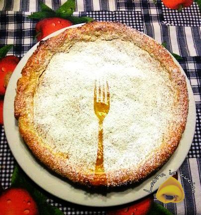 Torta strudel con pasta frolla,ricetta dolci