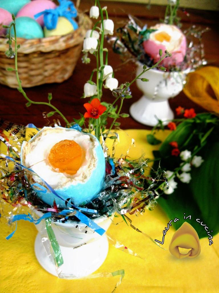 Uova pasquali ripiene ricetta dolce
