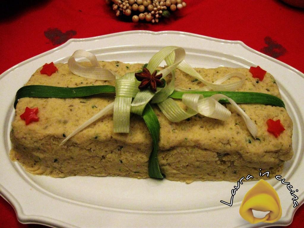 Antipasto di verdure e formaggio ricetta natalizia