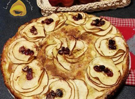Torta di mele e mirtilli ricetta senza bilancia