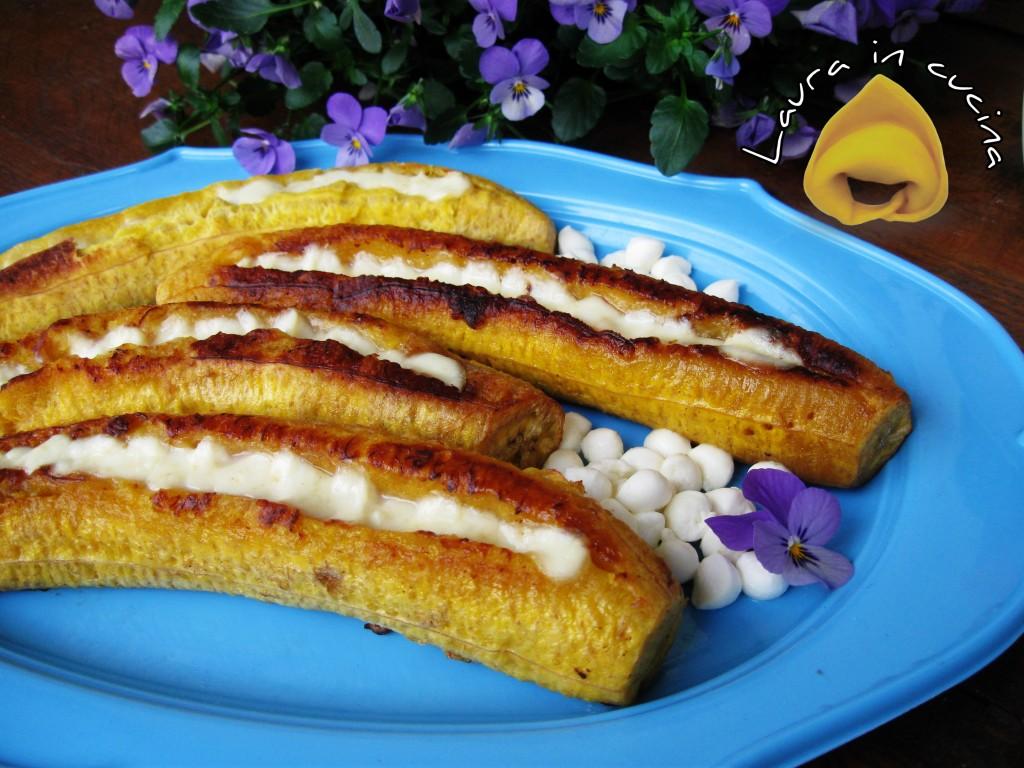 Platano con mozzarella ricetta dolce