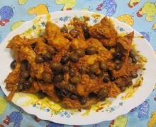 Coniglio in padella con le olive