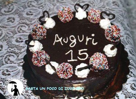 Sacher torta di compleanno