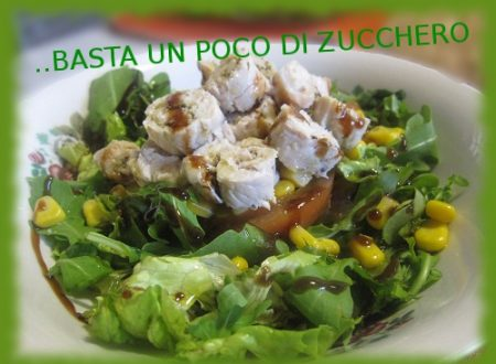 Rotolini aromatici con insalata mista