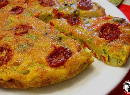 Frittata con verdure – Cottura al forno