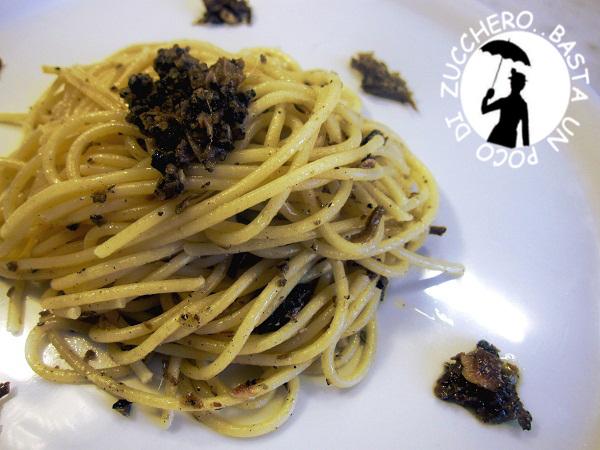 Spaghetti al tartufo estivo - Scorzone