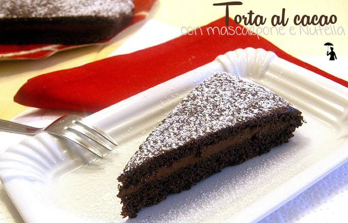 torta-al-cacao-con-mascarpone-e-nutella-Ricetta-senza-uova1