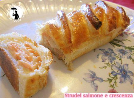 Strudel salmone e crescenza
