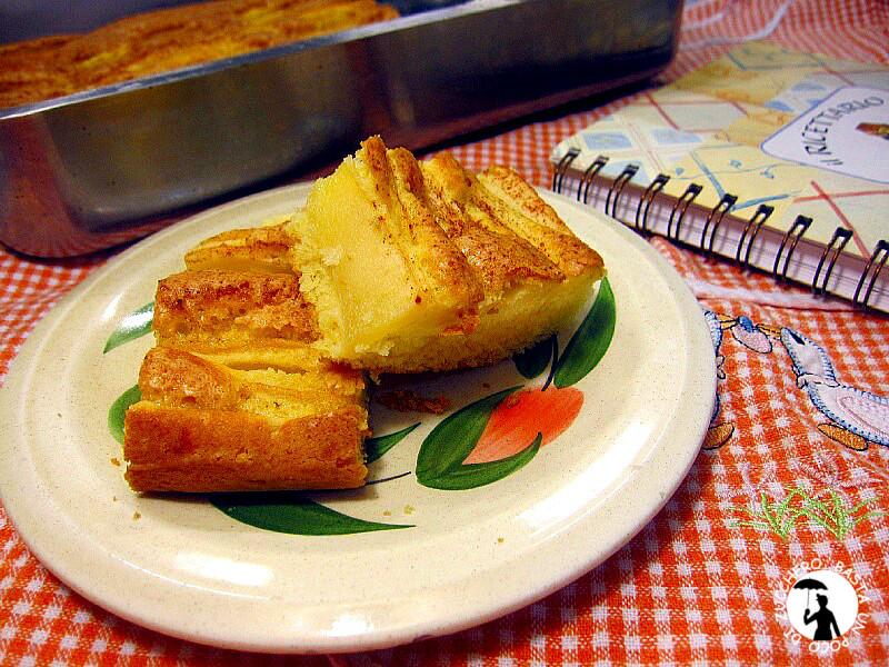 torta di mele - schiacciata alla fiorentina