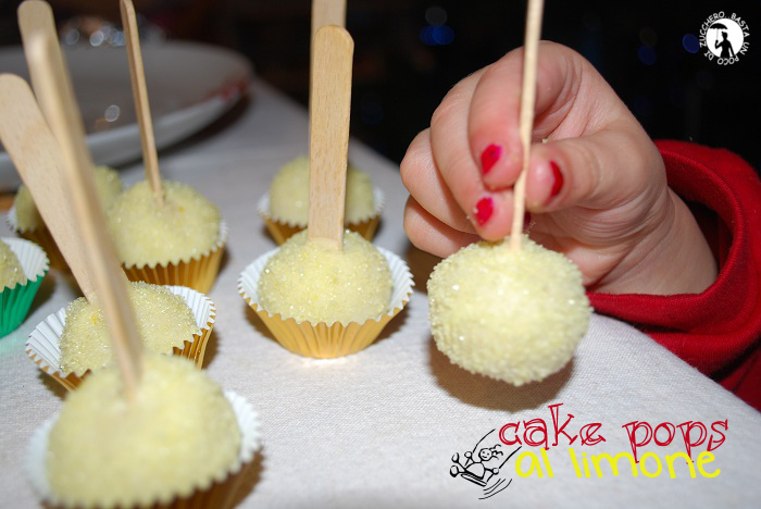 cake pops al limone