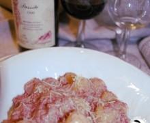 """Gnocchi al Sagrantino di Montefalco DOCG e…""""Merry Sagrantino"""" due giornate di degustazioni"""