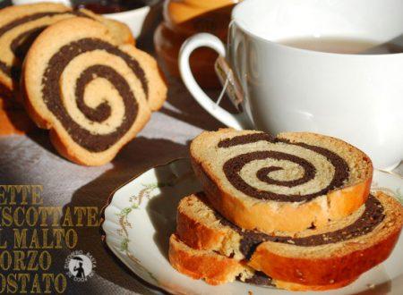 Fette biscottate al malto d'orzo tostato