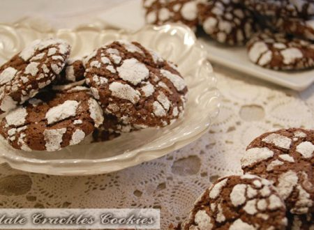 Biscotti al Cioccolato – Chocolate Crackles Cookies