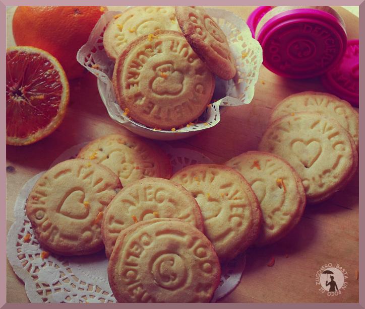 cookies arancia